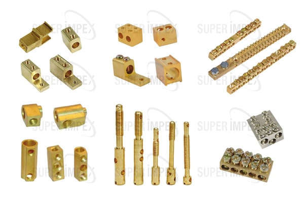 Best Manufacturers, Supplier & Exporter of Brass Electrical Components in Gujarat,India